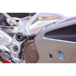 RSV Mille / Tuono jusqu'à 2008 ✓ Roulettes de protection de cadre (2004-)