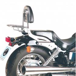 VT 750 D2 Black Widow 2001-2003 ✓ Sissybars Hepco-Becker avec porte paquet