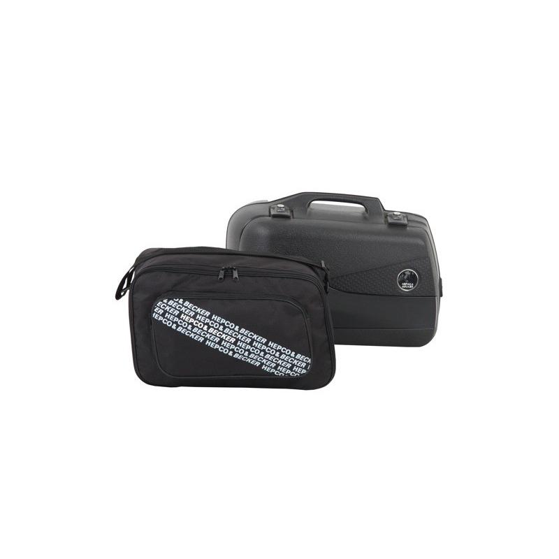 Bagagerie Hepco-Becker / Krauser ✓ Sac intérieur valise Junior / Junior Flash 30L Gauche