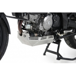 V-Strom 650 ABS (L2) / XT 2012-2016 ✓ Sabot moteur Hepco-Becker Argent