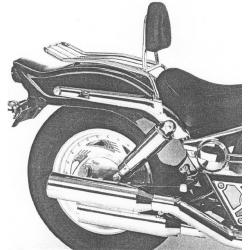 VZ 800 Marauder 1996-2003 ✓ Solorack Hepco-Becker avec dosseret