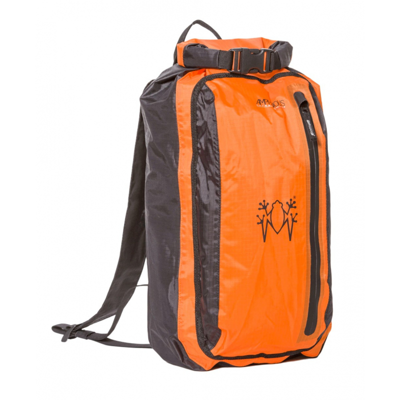 Bagagerie Amphibious ✓ X-LIGHT PACK 10L ORANGE - AMPHIBIOUS