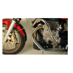 Breva V 750 ie from 2003 ✓ Pare carters Hepco-Becker Noir