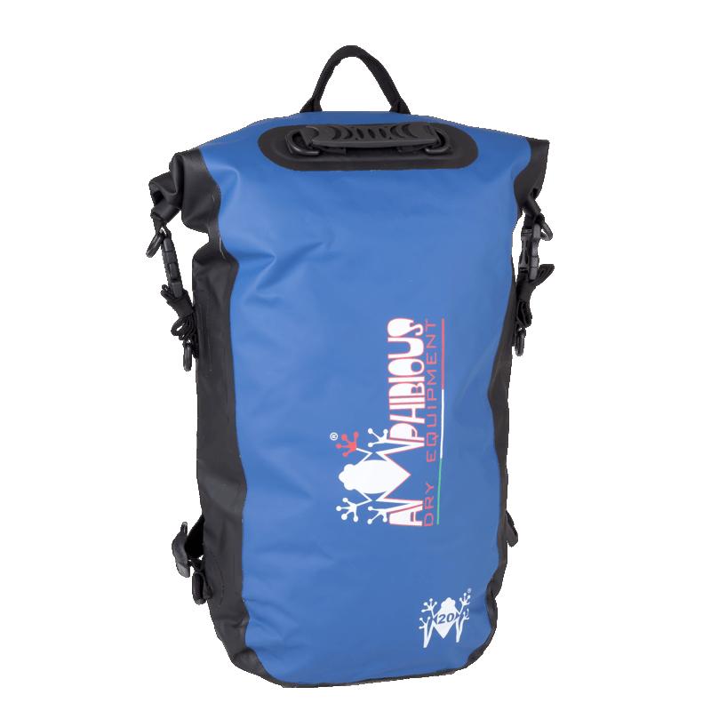 Bagagerie Amphibious ✓ KIKKER 20L BLEU - AMPHIBIOUS