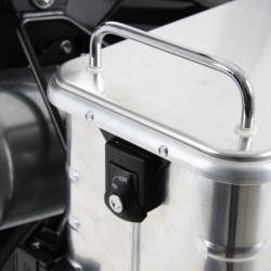 Bagagerie Hepco-Becker / Krauser ✓ Valises Alu Standard 35 litres Gauche HEPCO-BECKER