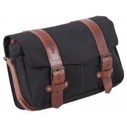 Bagagerie Hepco-Becker / Krauser ✓ Sacoche Legacy BLACK Courier Bag Pack M/M - Type C-Bow