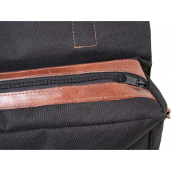 Bagagerie Hepco-Becker / Krauser ✓ Sacoche Legacy BLACK Courier Bag Pack M/L - Type C-Bow