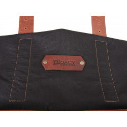 Bagagerie Hepco-Becker / Krauser ✓ Sacoche Legacy BLACK Courier Bag Pack M/L - Type C-Bow - La paire