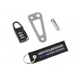 Bagagerie Hepco-Becker / Krauser ✓ Cadenas pour sacoche de réservoir Hepco-Becker