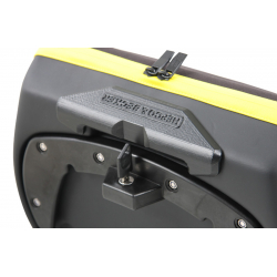 Bagagerie Hepco-Becker / Krauser ✓ Sacoches Royster noir et jaune HEPCO-BECKER - L'unité