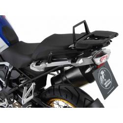R 1250 GS à partir de 2018 ✓ Support de top case argent Alurack Hepco-Becker