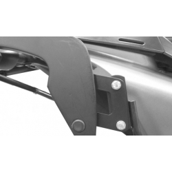 Bagagerie Hepco-Becker / Krauser ✓ Déplacement horizontal C-Bow - Chrome