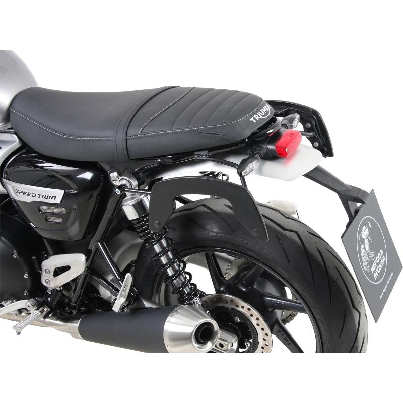 Speed Twin 1200 à partir de 2019 ✓ Supports de sacoches type C-Bow Hepco-Becker