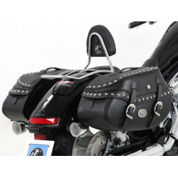 Bagagerie Hepco-Becker / Krauser ✓ Sacoches Cuir Buffalo Custom 30 litres C-Bow HEPCO-BECKER