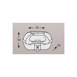 Bagagerie Hepco-Becker / Krauser ✓ Top case Journey TC 42 Recon 42 litres HEPCO-BECKER