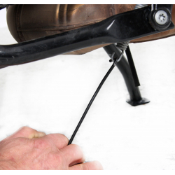 Bagagerie Hepco-Becker / Krauser ✓ Outil d'aide a la tension du ressort béquille Hepco-Becker