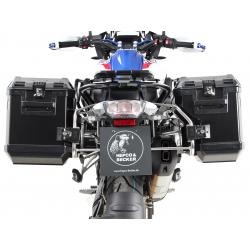 R 1250 GS à partir de 2018 ✓ Ensemble supports + valises Xplorer Cutout Set - Noir