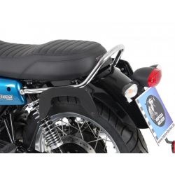 V7 III Rough à partir de 2018 ✓ Supports de sacoches type C-Bow Hepco Becker Noir