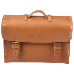 Bagagerie Hepco-Becker / Krauser ✓ Mallette Legacy Cuir Marron Type C-Bow