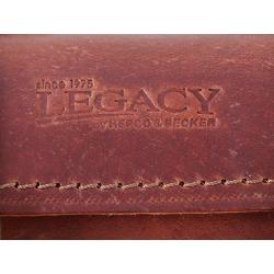 Bagagerie Hepco-Becker / Krauser ✓ Sac arrière Legacy Cuir MARRON FONCE