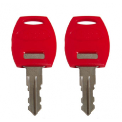 Bagagerie Hepco-Becker / Krauser ✓ 1 paire de clés pour C-Bow Hepco-Becker