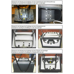 Fixation rapide installée en usine - La paire