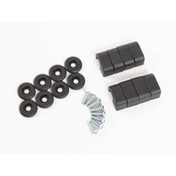 Bagagerie Hepco-Becker / Krauser ✓ Xtravel - Kit de montage pour supports de valises HEPCO-BECKER