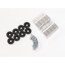 Bagagerie Hepco-Becker / Krauser ✓ Xtravel - Kit de montage pour supports de valises Touratech