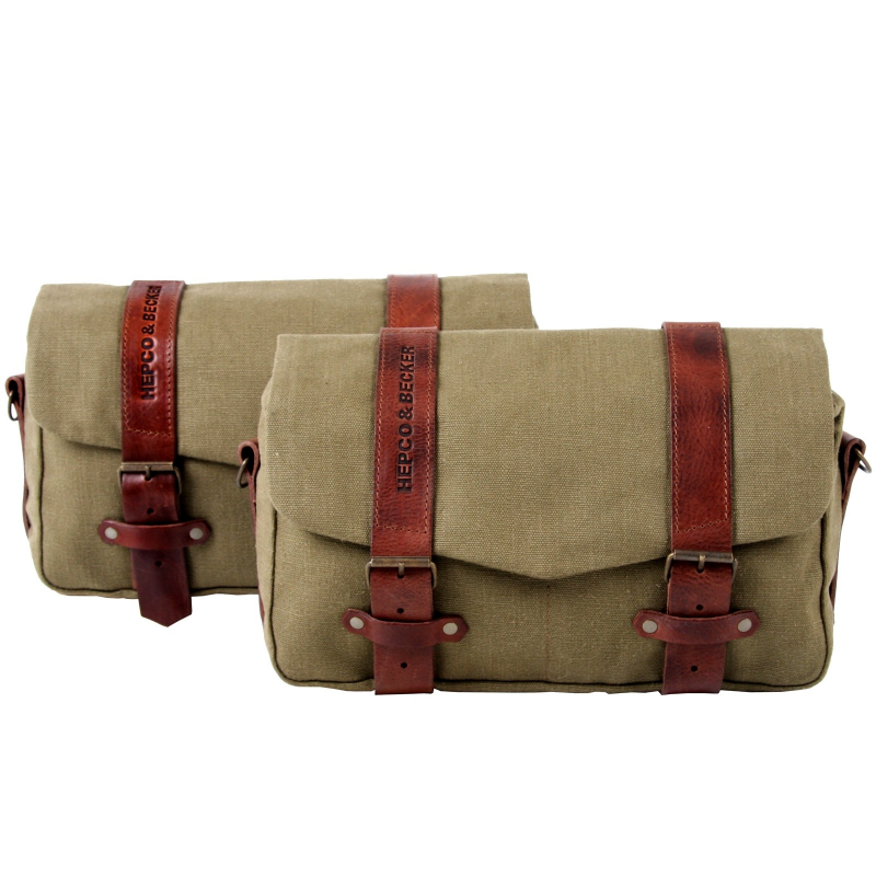 Bagagerie Hepco-Becker / Krauser ✓ Sacoche Legacy Courier Bag Pack M/L - Type C-Bow - La paire