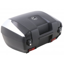 Bagagerie Hepco-Becker / Krauser ✓ Top case Junior Flash TC 55 (2 casques) Cover Silver HEPCO-BECKER