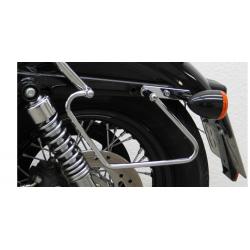 Sportster 1200 Forty-Eight ✓ Ecarteur de sacoches chrome