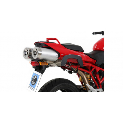 Multistrada 1100 2007-2009 ✓ Supports sacoches Hepco-Becker type C-Bow