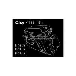 Bagagerie SW-Motech ✓ Sacoche de réservoir Quick Lock EVO City SW-Motech