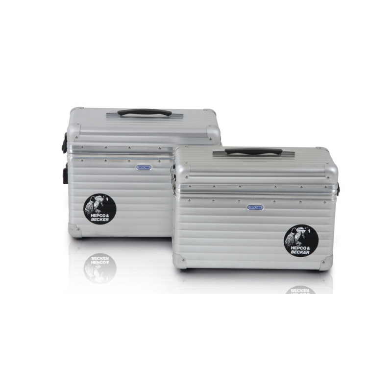 Bagagerie Hepco-Becker / Krauser ✓ Valise Alu Exclusive 35 litres Gauche HEPCO-BECKER