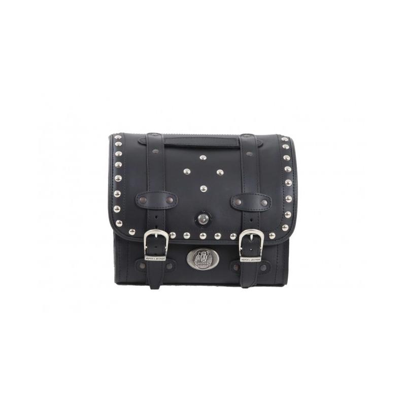 Bagagerie Hepco-Becker / Krauser ✓ Sacoche Cuir Buffalo Custom Smallbag HEPCO-BECKER