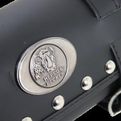 Bagagerie Hepco-Becker / Krauser ✓ Sacoche Cuir Rouleau Buffalo Custom HEPCO-BECKER
