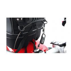 Bagagerie Hepco-Becker / Krauser ✓ Cadenas Hepco-Becker avec cable acier