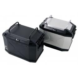 Bagagerie Hepco-Becker / Krauser ✓ Porte bagage Noir Valises Xplorer 40