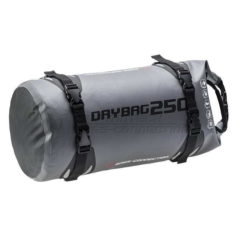 Bagagerie SW-Motech ✓ Sac de selle DRYBAG 250 25 litres gris SW-Motech