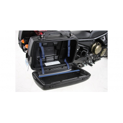 Bagagerie Hepco-Becker / Krauser ✓ Valises Junior Flash 40 litres Cover Black HEPCO-BECKER
