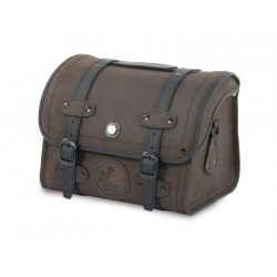 Bagagerie Hepco-Becker / Krauser ✓ Sacoche Cuir Rugged Marron Smallbag HEPCO-BECKER