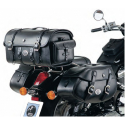 Bagagerie Hepco-Becker / Krauser ✓ Sacoches Cuir Buffalo 30 litres Leather Bag HEPCO-BECKER - La paire