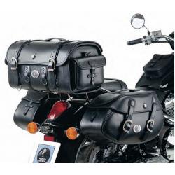 Bagagerie Hepco-Becker / Krauser ✓ Sacoches Cuir Buffalo 30 litres Leather Bag HEPCO-BECKER