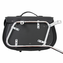 Bagagerie Hepco-Becker / Krauser ✓ Sacoches Cuir Buffalo Custom 30 litres Leather Bag HEPCO-BECKER - La paire