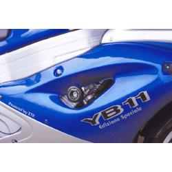 YB11 ✓ Roulettes de protection