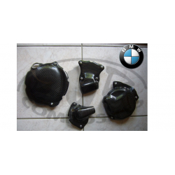 S 1000 RR 2009-2011 ✓ Protections de carters carbone 4 pieces