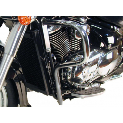 C 800 Intruder 2005 / Black Edition ✓ Pare carters Hepco-Becker
