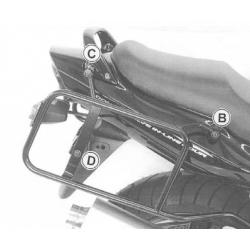 GSF 1200 S Bandit 2001-2005 ✓ Supports de valises Hepco-Becker