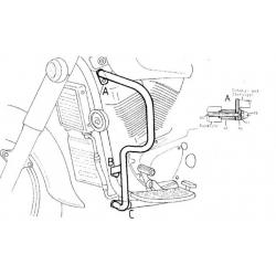 VL 1500 Intruder 1998-2004 ✓ Pare carters Hepco-Becker