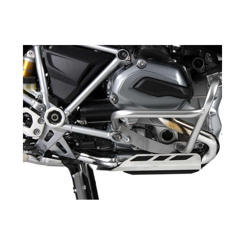 LE COIN DES BONNES AFFAIRES ✓ Pare cylindres BMW R1200GS LC Argent Hepco-Becker 2013 (Destockage)